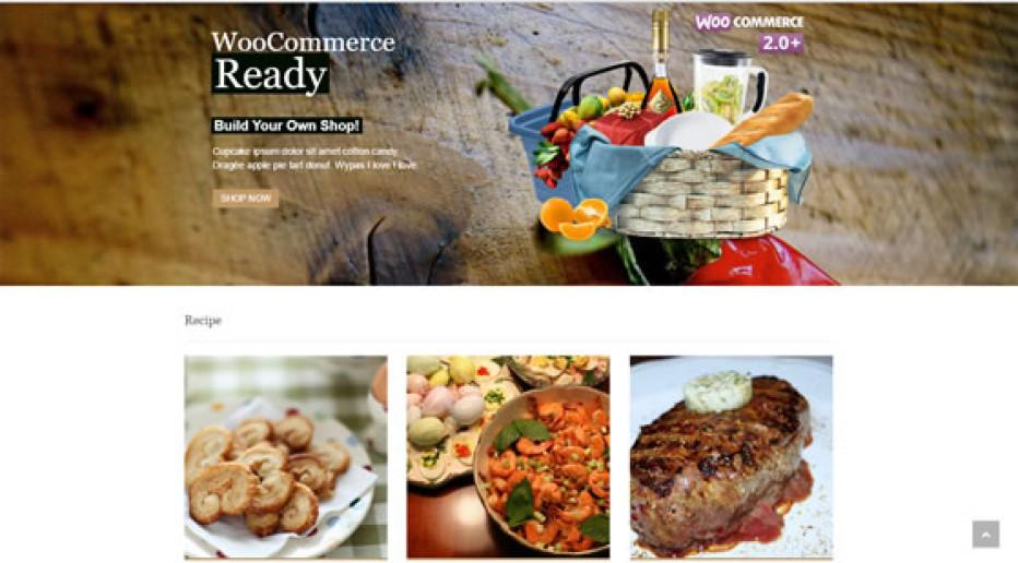 Food & Cook – Recipe WordPress Theme by Dahz